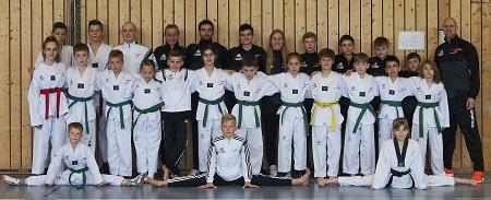 Sporting Taekwondo ist wieder beste Mannschaft in Hessen