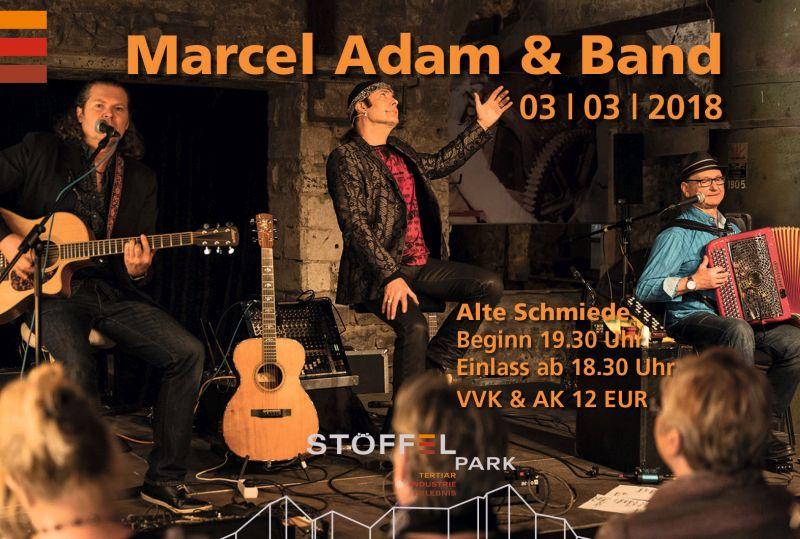 Marcel Adam präsentiert seine besten Chansons
