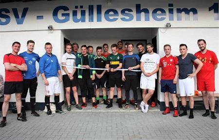 SV G�llesheim freut sich �ber sanierte Umkleider�ume