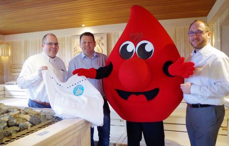 Kostenfreie Saunatickets für Blutspender im Westerwaldkreis