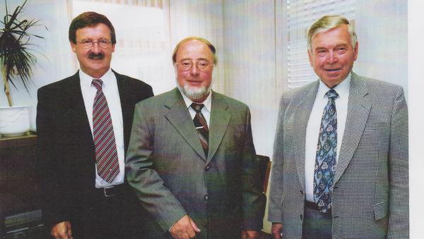 Vor 20 Jahren: Josef Zolk wird Flammersfelder Bürgermeister