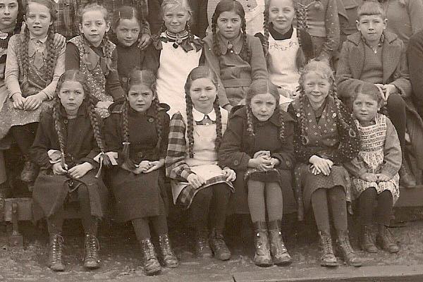 Mundart: Schulen früher