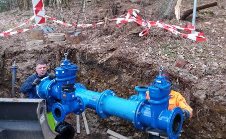 Neues Schieberkreuz in Grindel sichert Wasserversorgung