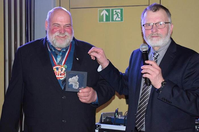 Ulrich Schreiber erhält Silberne Kammermedaille