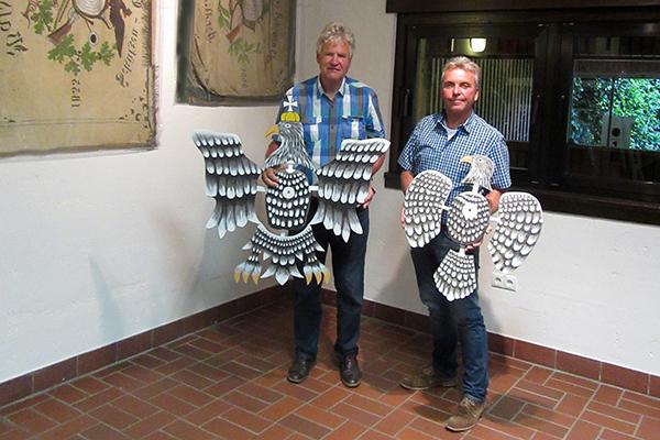 Vorbereitungen zum Schützenfest in Waldbreitbach laufen