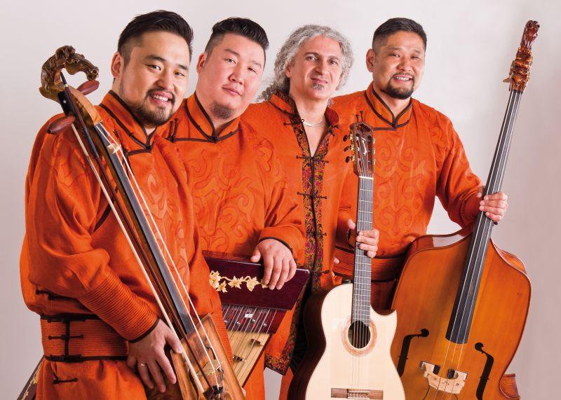 Mongolische Musik trifft auf orientalische Klänge