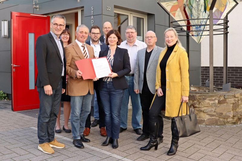 Land fördert Stadtumbau von Selters