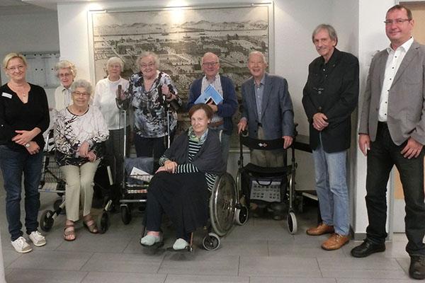 Seniorenbeirat besuchte Evangelisches Altenzentrum