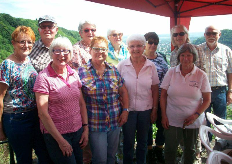 Seniorenbeirat und seine Gäste wanderten zur Edmundshütte