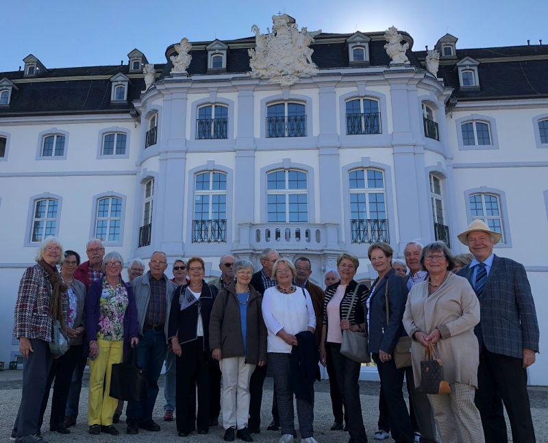 Mit dem Seniorenbeirat die Villa Musica erkundet