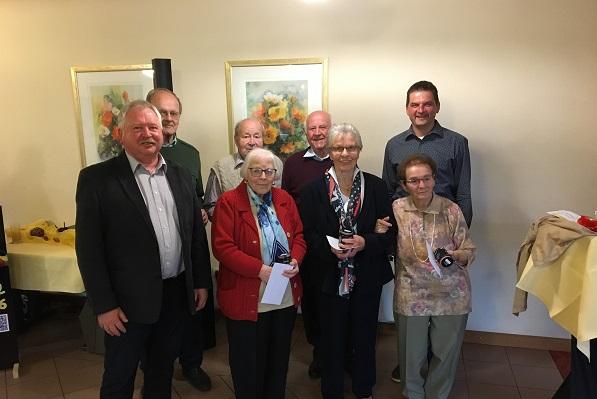 �lteste Teilnehmer bei Prachter Seniorenfeier begr��t