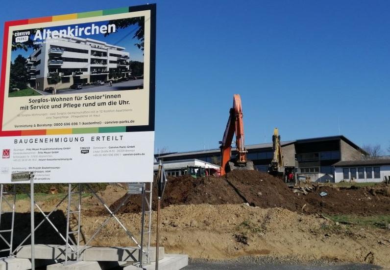 �Senioren-Wohnpark Altenkirchen�: Bau beginnt trotz Coronakrise