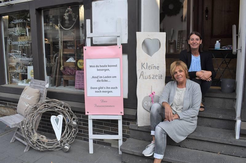 "Trotz Corona nahmen viele Kunden in Wissen am ""Heimat Shoppen"" teil. (Fotos: wear)"