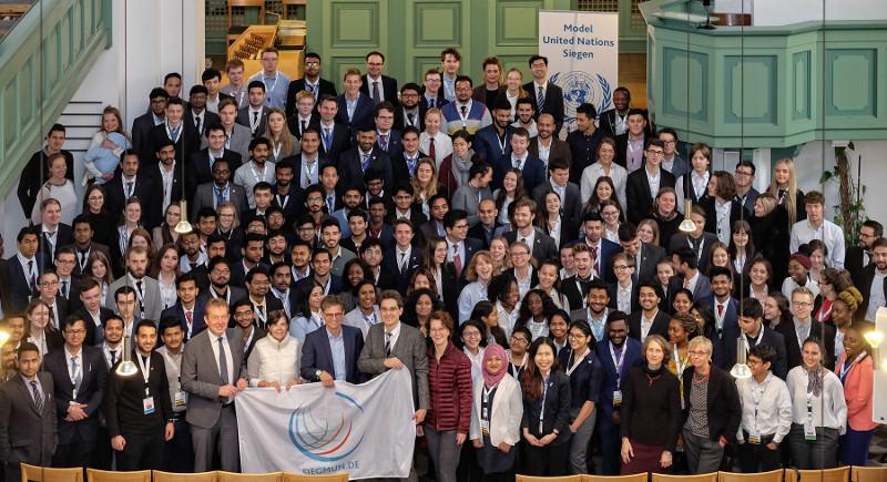 Rund 200 Beteiligte aus 34 Nationen simulieren als Diplomaten die Arbeit der Vereinten Nationen. Foto: Privat