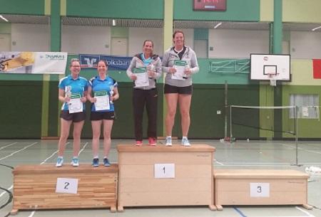 Badminton: Qualifizierung f�r Deutsche Meisterschaft geschafft