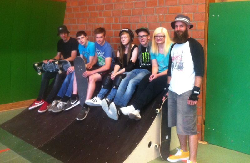 Schulprojekt Skaten an der BBS Heinrich-Haus