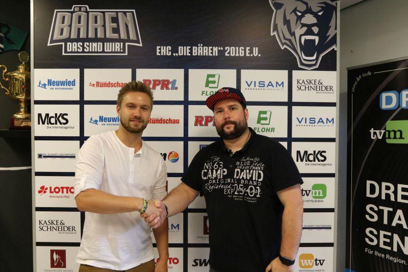 Früher WM, heute Bären: Niklas Solder kommt zum EHC