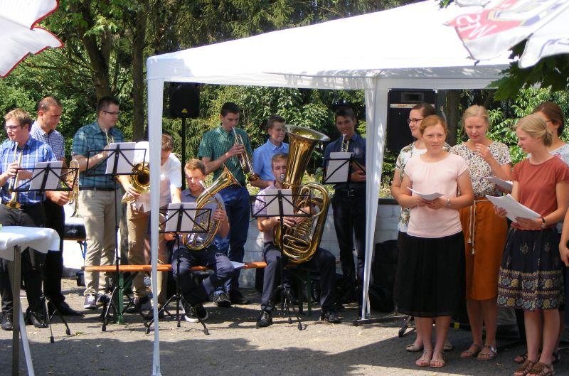 """Fröhliches Sommerfest im """"Haus am Linzer Berg"""""""