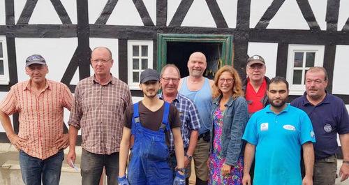 Sommertour: Sabine B�tzing-Lichtenth�ler besuchte Kirchen und Brachbach