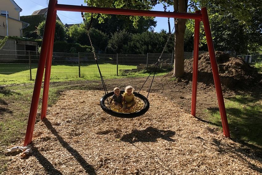 Neues Spielgerät für den Spielplatz in Niederhausen