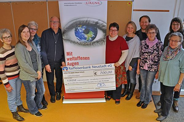 Chor Meinborn unterstützt EIRENE