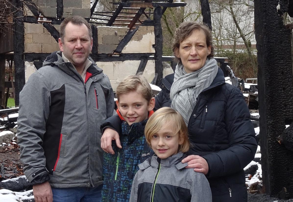 Überwältigende Anteilnahme nach Brand in Altenbrendebach
