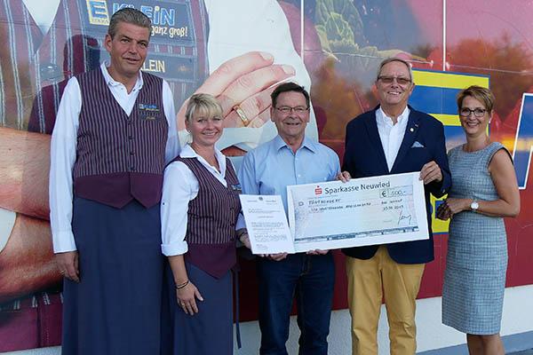 Lions Club Rhein-Wied unterstützt Sportfreunde Aegidienberg