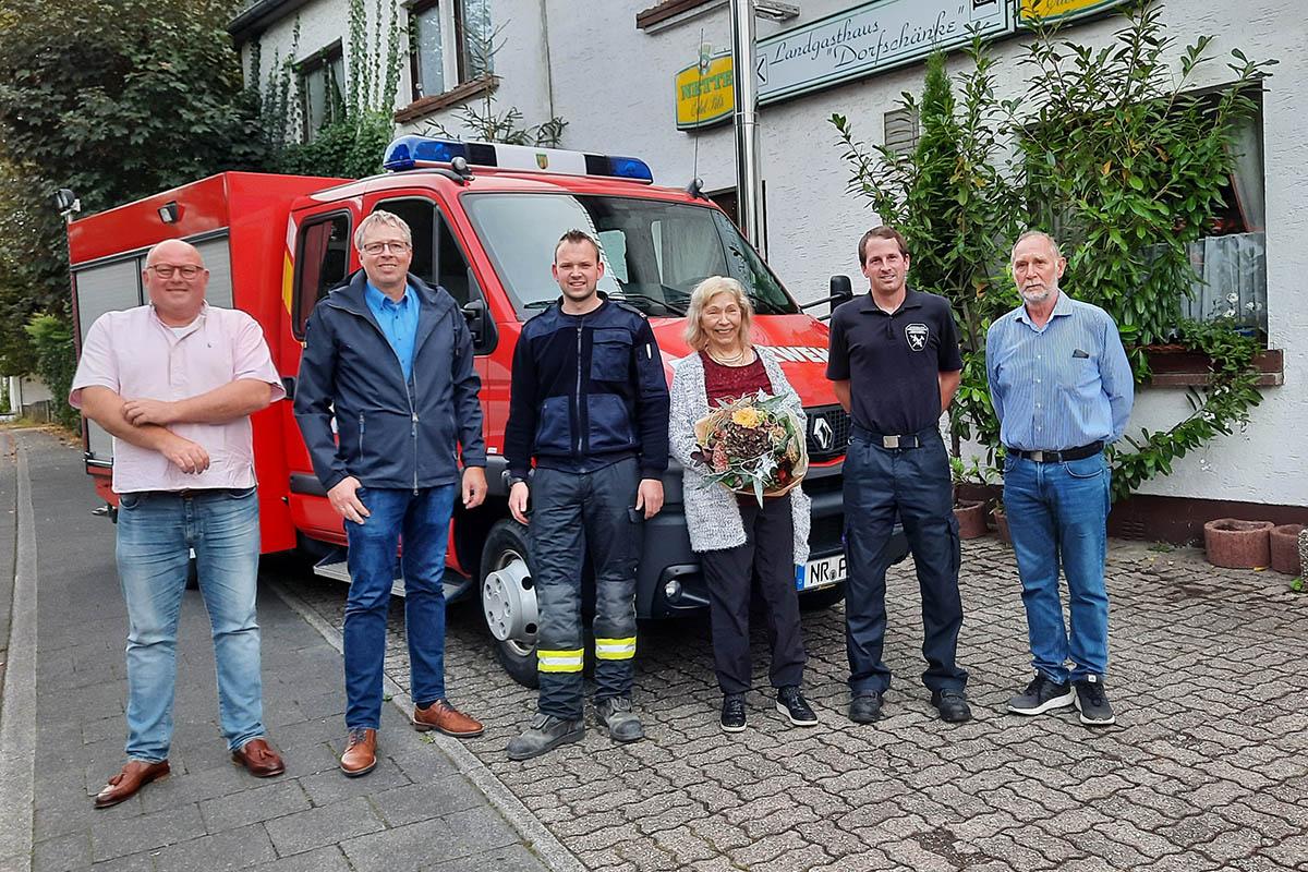 Spende an Förderverein Freiwillige Feuerwehr Oberraden-Straßenhaus
