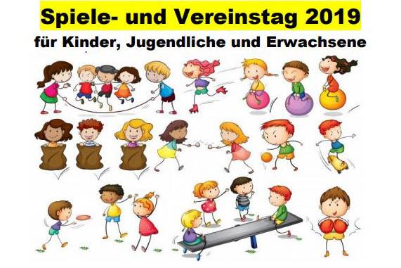 Spielefest und Vereinstag - 30 Jahre Stadt-Jugend-Ring