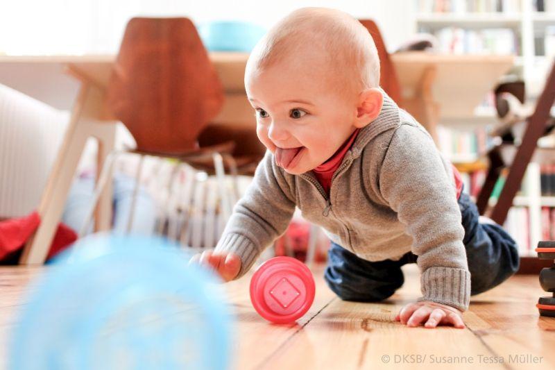 Krabbeln, spielen, kennenlernen – für Kinder und Eltern