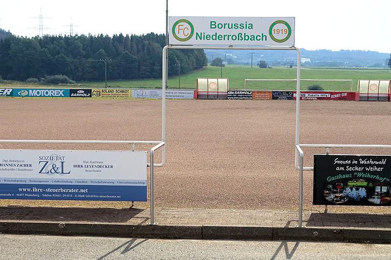 FC Borussia Niederroßbach bekommt Kunstrasensportfeld