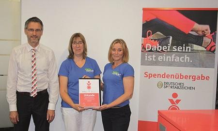 Sportabzeichen-Wettbewerb: TGV Nistertal unter bundesweiten Preisträgern