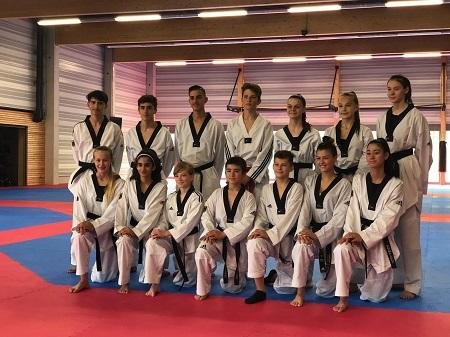 Emily Kunz von Sporting Taekwondo in der Nationalmannschaft