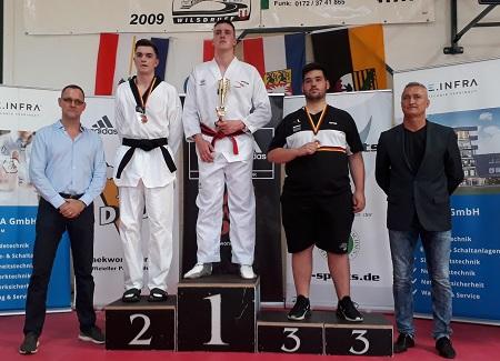 Taekwondo: Julien Pascal Weber ist Deutscher U-21-Meister
