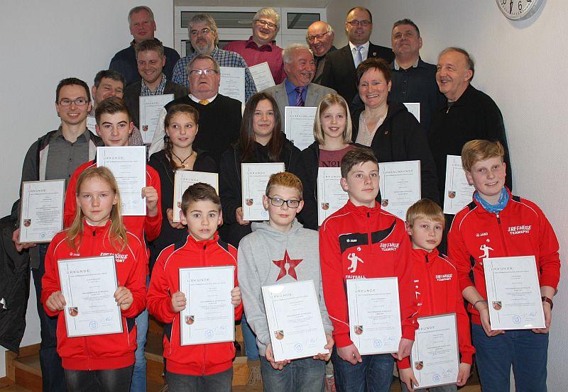 Herausragende Sportler der Verbandsgemeinde Kirchen geehrt