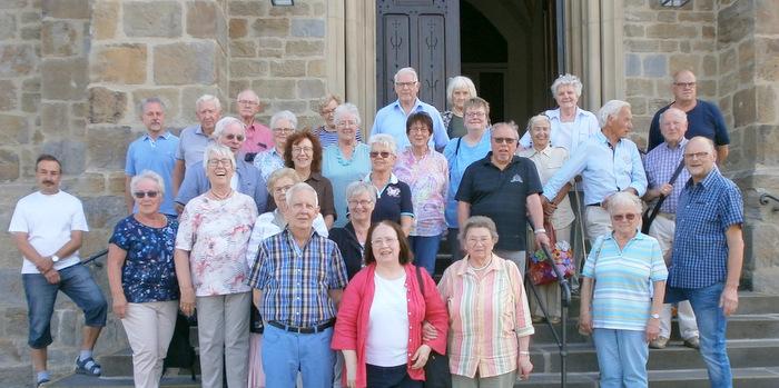 BGV besichtigte Pfarrkirche St. Ignatius