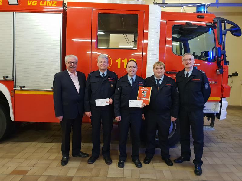 Feuerwehr St. Katharinen zieht Bilanz für 2018