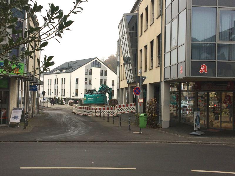 Stadtbachsanierung am Gerberhof auf der Zielgeraden