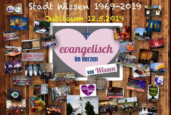 Stadtjubiläum 2019: Evangelisch im Herzen von Wissen