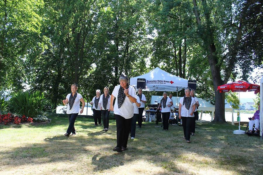 DRK unterstützte Stadtgartenfest der Linzer Seniorenheime