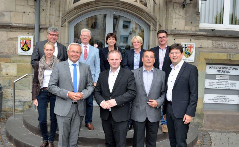 Gemeinsame Sitzung der Vorstände von Stadt und Kreis Neuwied