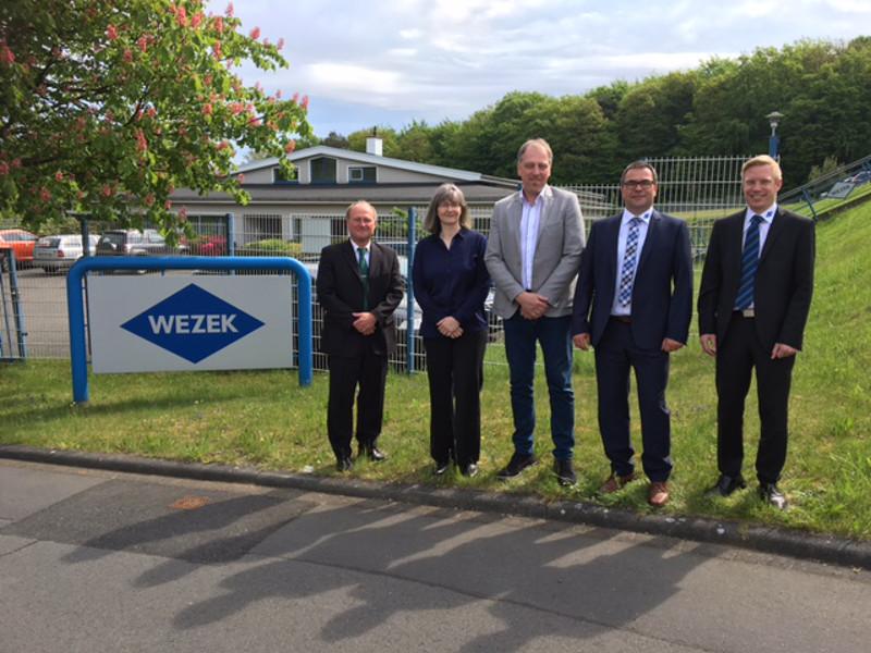 Vernetzung mit Uni Siegen: Wezek setzt auf additive Fertigung