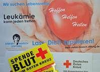 Typisierungsaktion der Stefan-Morsch Stiftung beim Römerwallcup