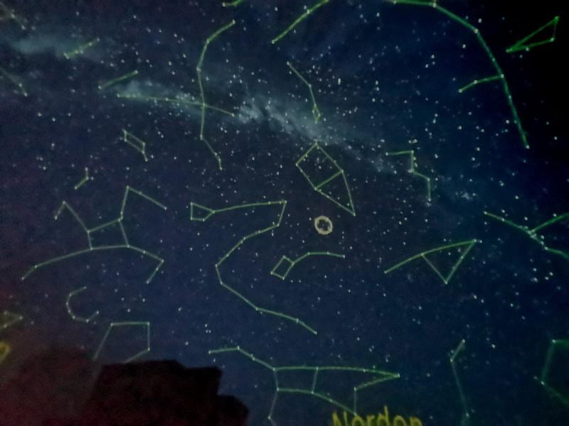 Den Sternenhimmel ins Stockhäuschen geholt