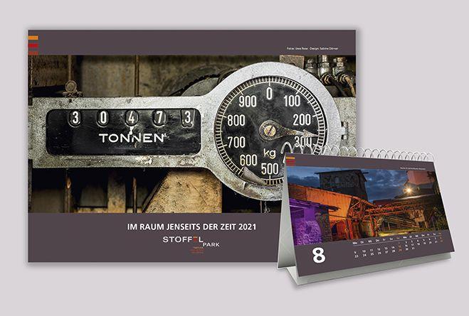 Der Stöffel-Park präsentiert den neuen Fotokalender für 2021