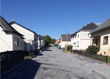 De Gartenstraße in Caan nach Fertigstellung (Foto: Ortsbürgermeister Caan)
