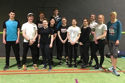 Profitraining für Strongmanrun-Gruppe des Jugendzentrums