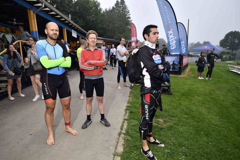 """Puderbacher beim """"Belman Triathlon"""" in Robertville/Belgien"""