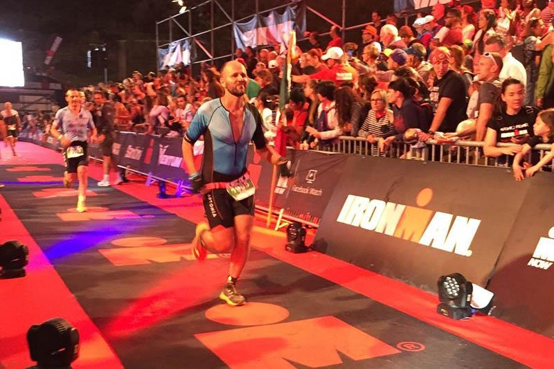 Sven Dau vom LT Puderbach finishte beim Ironman Barcelona