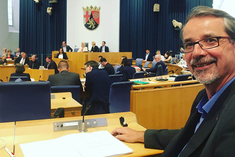 Sven Lefkowitz: Ein Jahr Mitglied im rheinland-pfälzischen Landtag